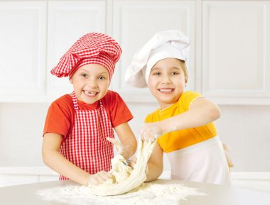 Happy little chefs