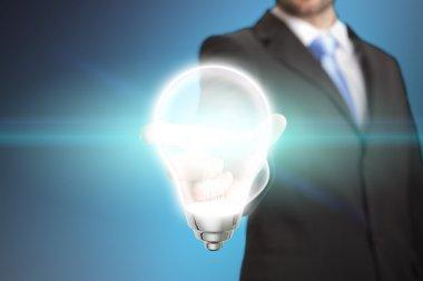 Businessman idea concept