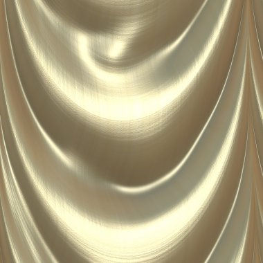 Gold satin background texture - great for 3D modeling and rendering