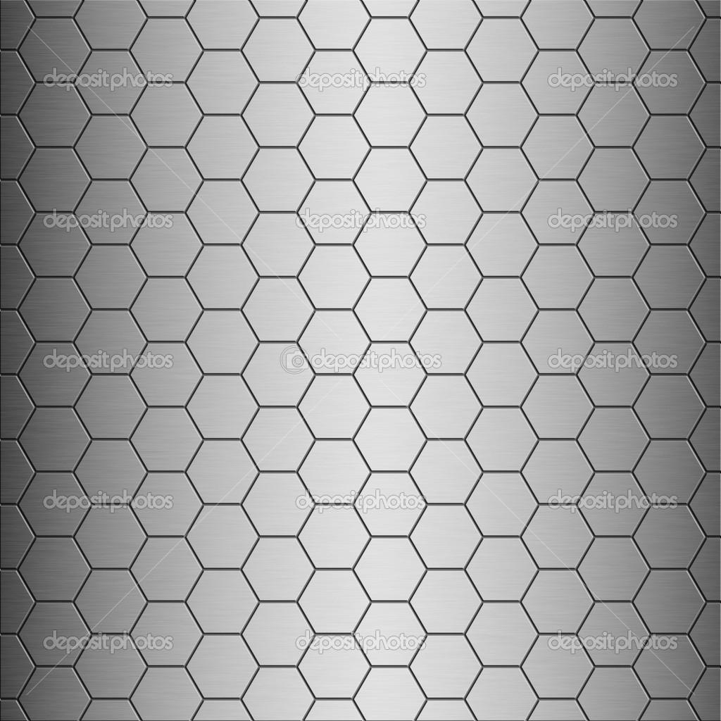 geb rstetes aluminium gro e waben fliesen textur mit vertikalen highlight ideal f r 3d. Black Bedroom Furniture Sets. Home Design Ideas