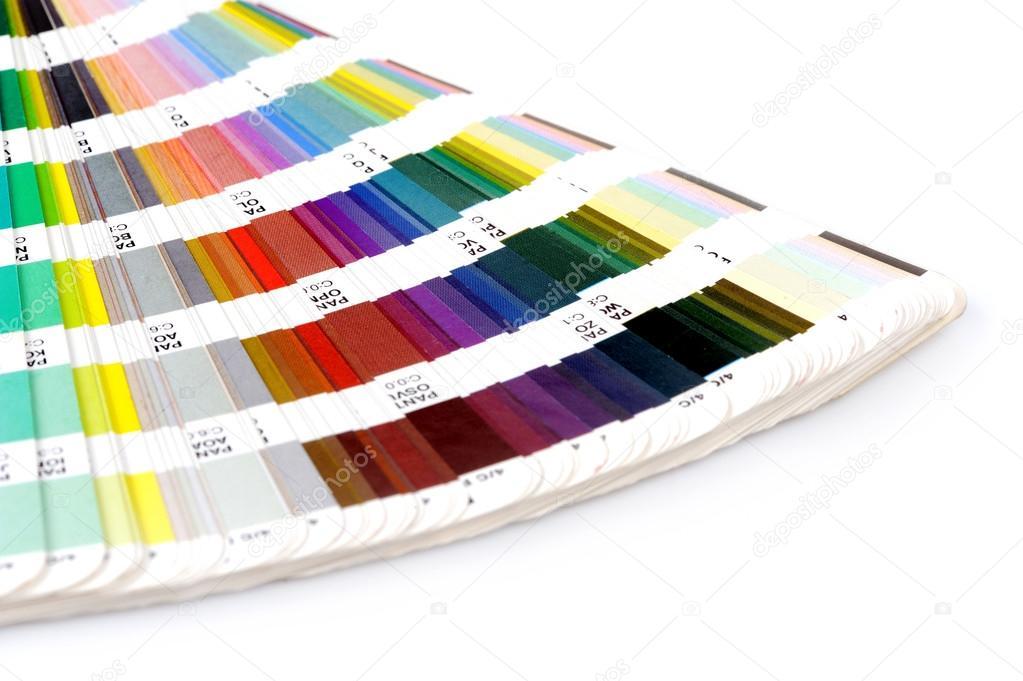 pantone beispiel farben katalog — Stockfoto © VolodymyrBur #32653317