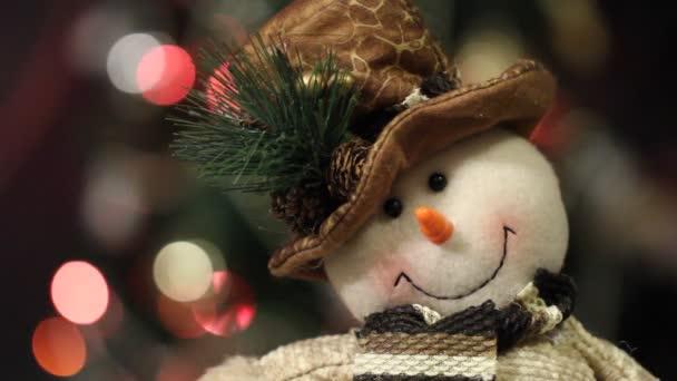 decorazione di Natale con giocattoli di Natale