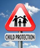 Fotografie Schutz von Kindern