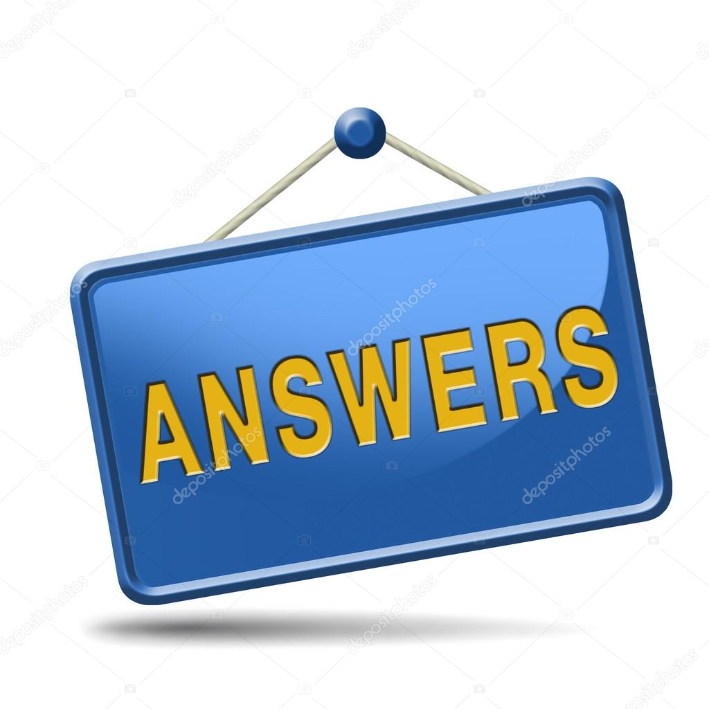 Search Answers Icon  U2014 Stock Photo  U00a9 Kikkerdirk  34372975