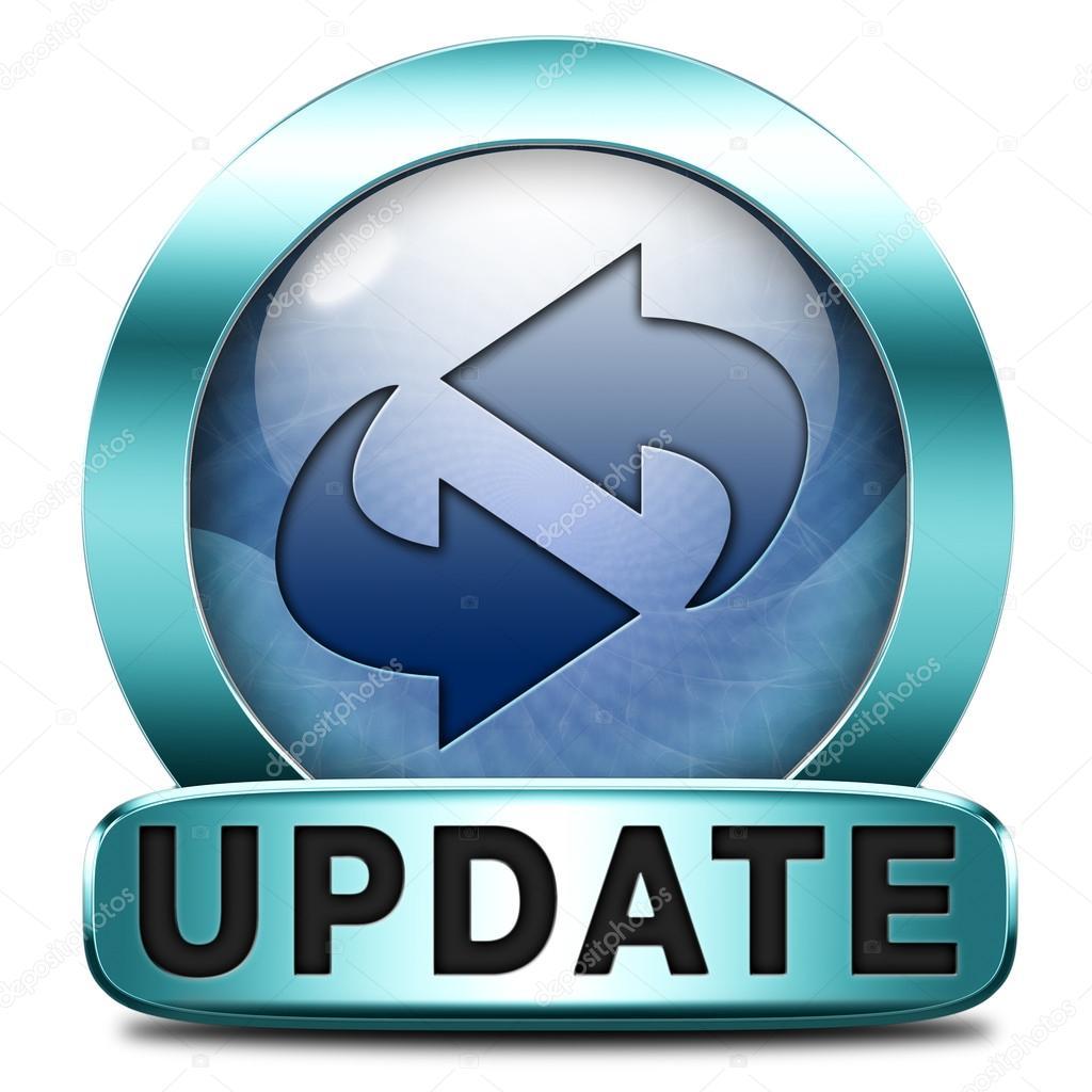 Update icon — Stock Photo © kikkerdirk #46719105
