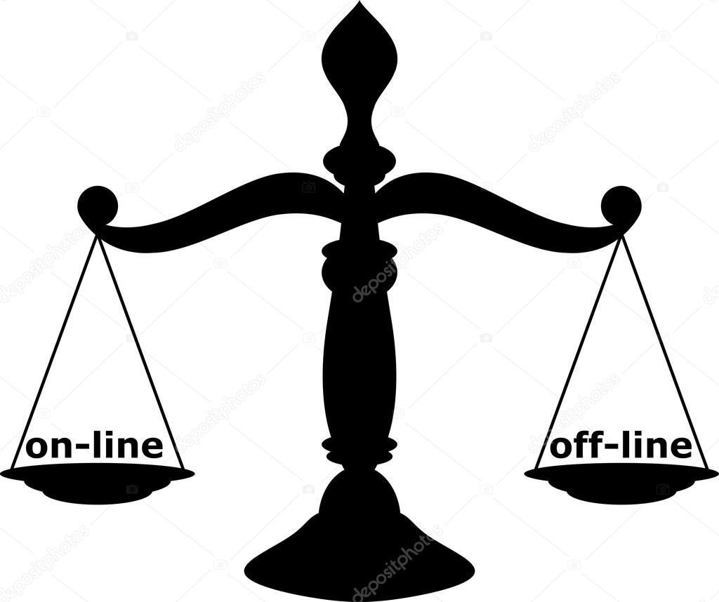 Scales Of Justice Stock Vector Longquattro 22528791