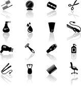 Haar-Salon-Symbole