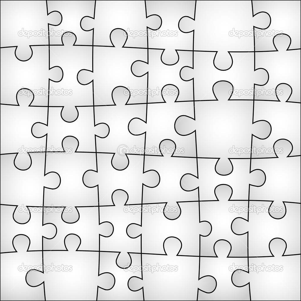 fond gris puzzle  u2014 image vectorielle longquattro  u00a9  31402643