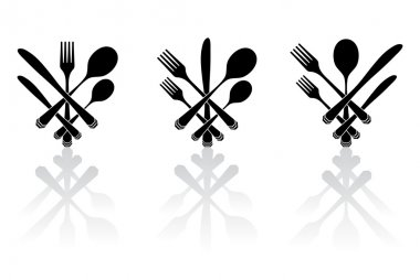 Three cutlery