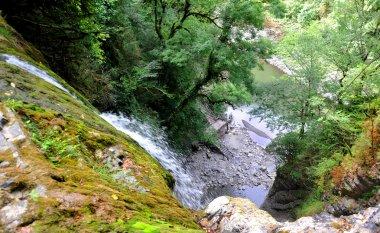 Orekhovsky waterfall in Sochi National Park, Russia