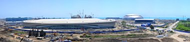 Sochi Olympic Park, large stitched panorama
