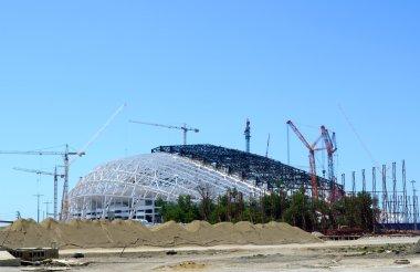 Construction Construction of the stadium