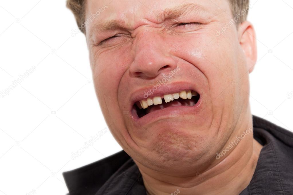 Stockfotos Man crying Bilder, Stockfotografie Man crying - lizenzfreie  Fotos | Depositphotos