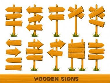 Wodden arrows