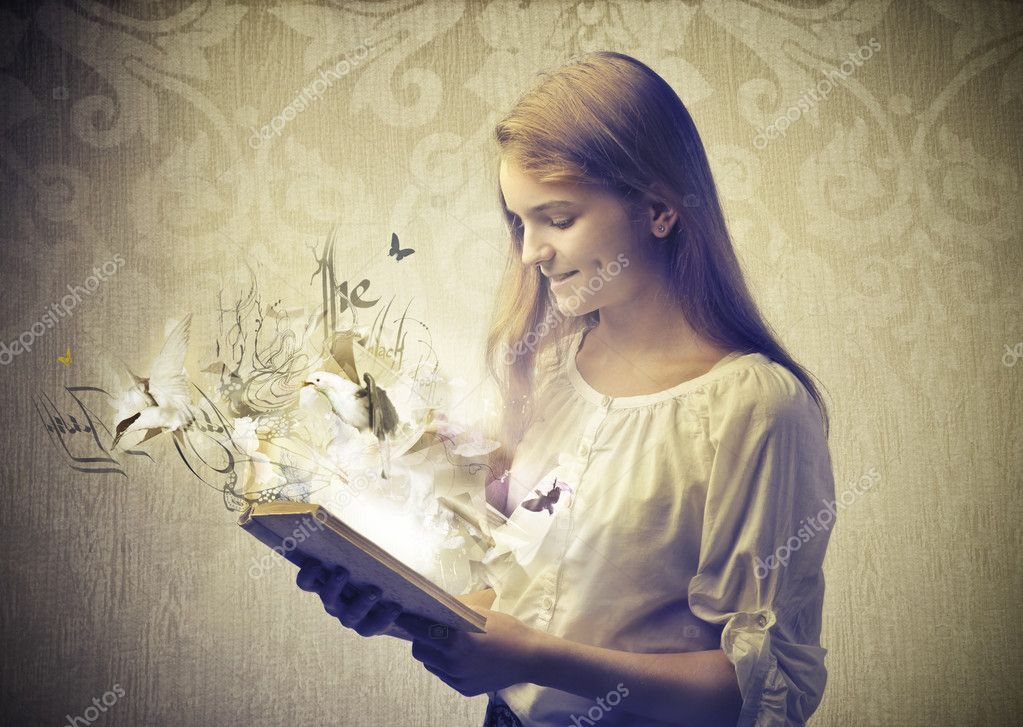 Reading a Fairy Tale Coming to Life