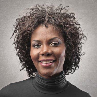 Portrait black woman