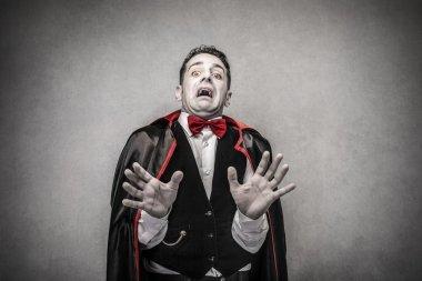 Scared vampire