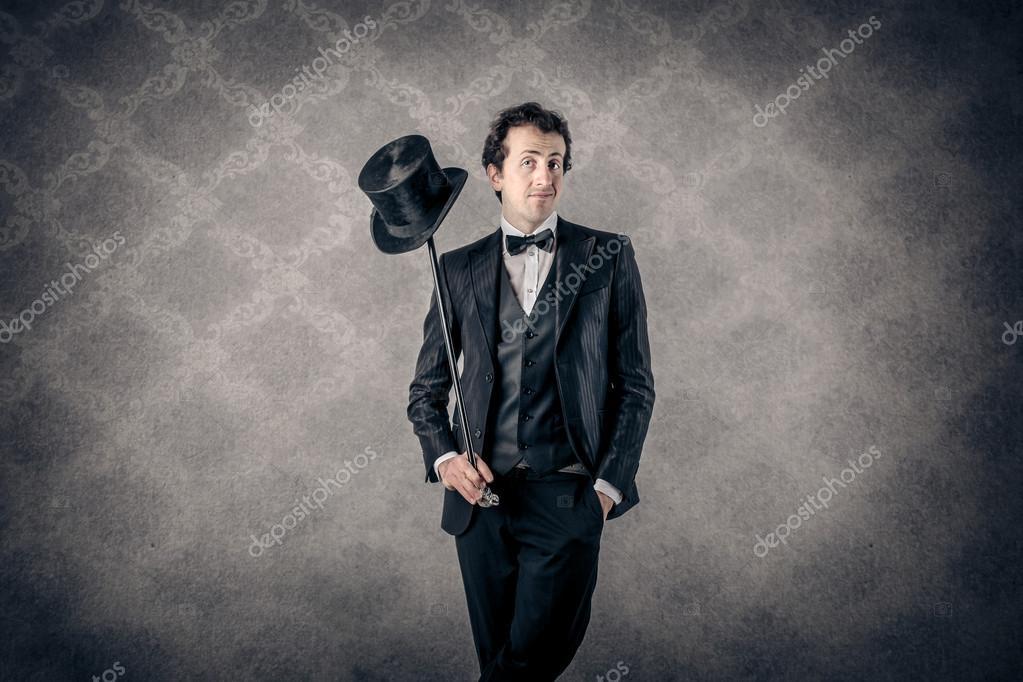 Smart elegant man — Stock Photo