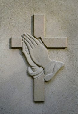 Crucifix And Jesus' Hands