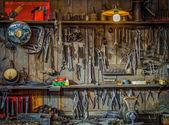 Vintage nástroje dílna