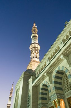 Tower of the Nabawi Mosque at knight.