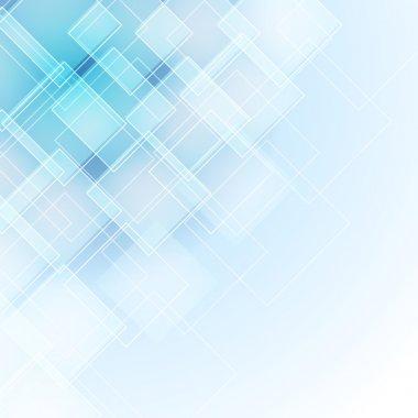 """Картина, постер, плакат, фотообои """"Абстрактный синий фон"""", артикул 13175557"""
