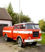 hasičské auto Kuželově, Česká republika