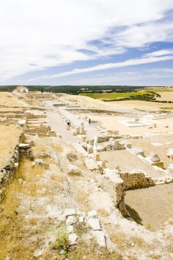 archaeological place, Roman city of Segobriga, Saelices, Castile