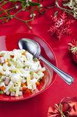 Tradiční český vánoční bramborový salát