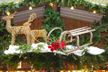 Christmas market at Rathausplatz