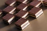 Fotografie nugát čokoládové bonbony