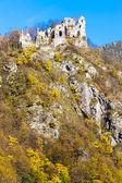 Zřícenina hradu zvané