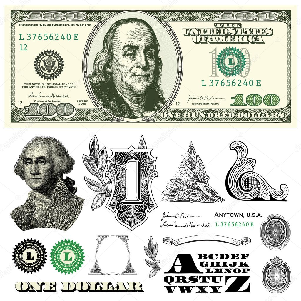 Dollar Stock Vectors, Royalty Free Dollar Illustrations | Depositphotos®