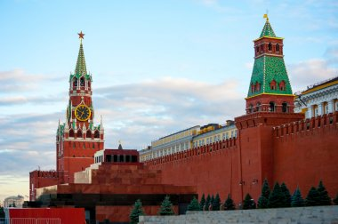 Kremlin on Red Square, Moscow, Russia