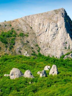 """Картина, постер, плакат, фотообои """"крымские горы печать архитектура"""", артикул 14872627"""