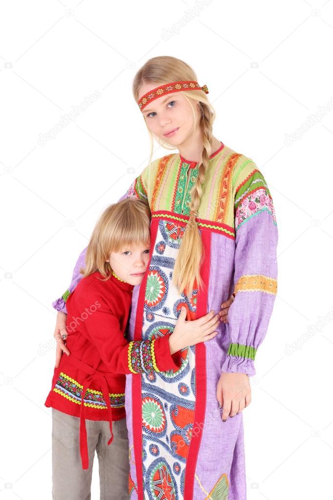russian girl Young teen boy