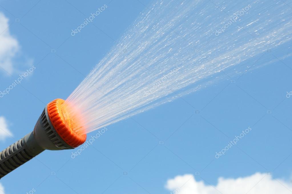 Sprinkle spraying