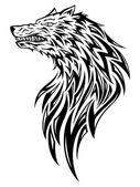 Photo Wolf Head Tattoo