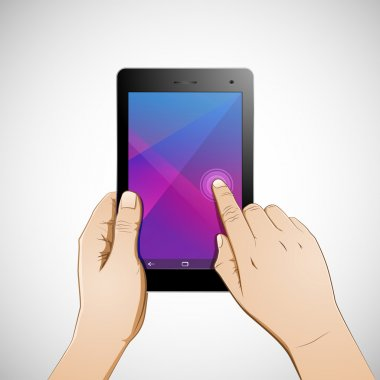 Hand Touch 7 inch Tablet