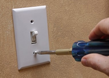 Installing Light Switch Cover