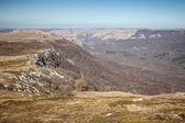 primavera nelle montagne della Crimea