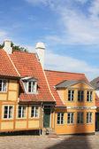 Historical centre of Roskilde. Denmark