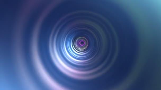 ciclo astratta arcobaleno circolo tunnel sfondo