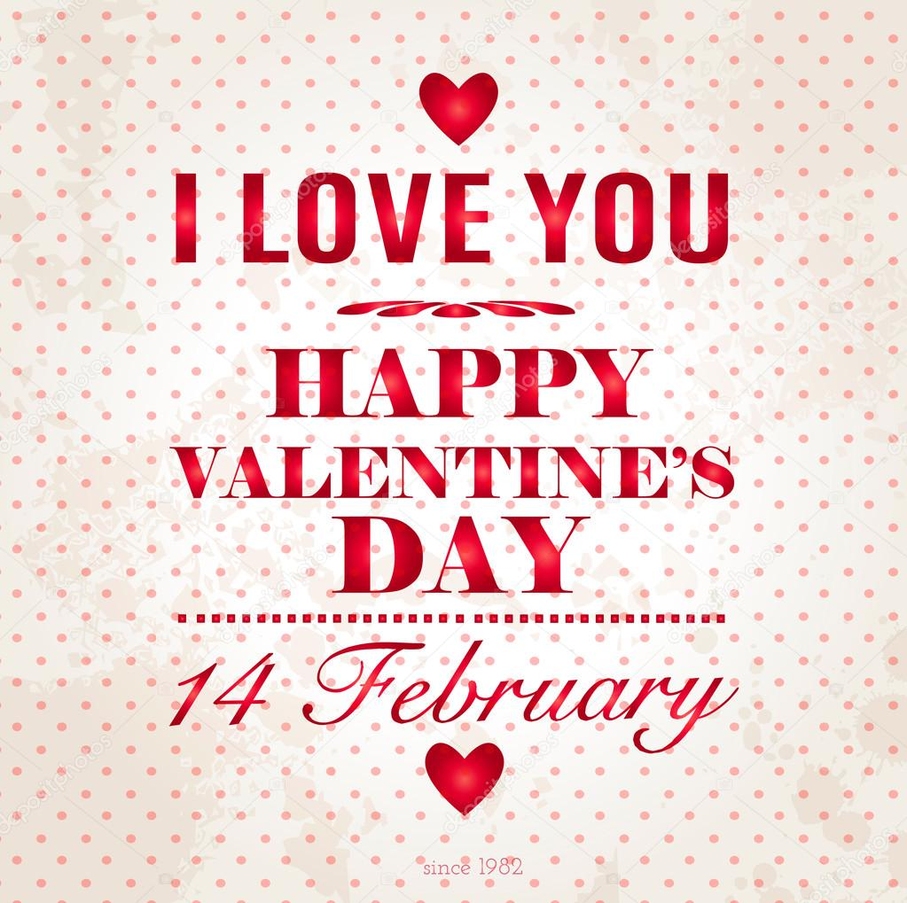 love quo valentines day - HD 1280×1307