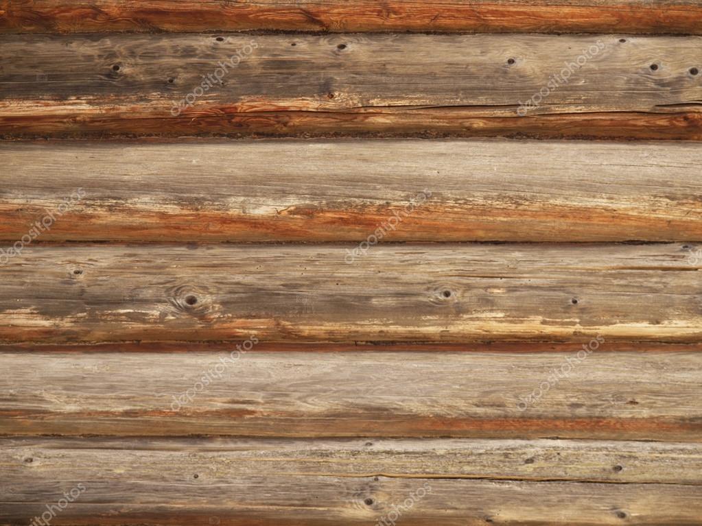 Paredes de troncos de madera fondo foto de stock for Paredes forradas de madera
