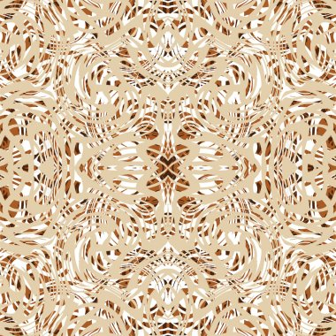 Dalle and linoleum composite covering, vector seamless pattern.