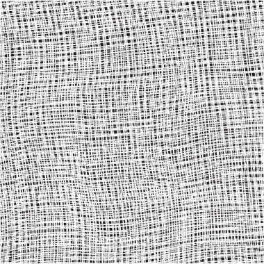 White weave cotton textured cloth on black background