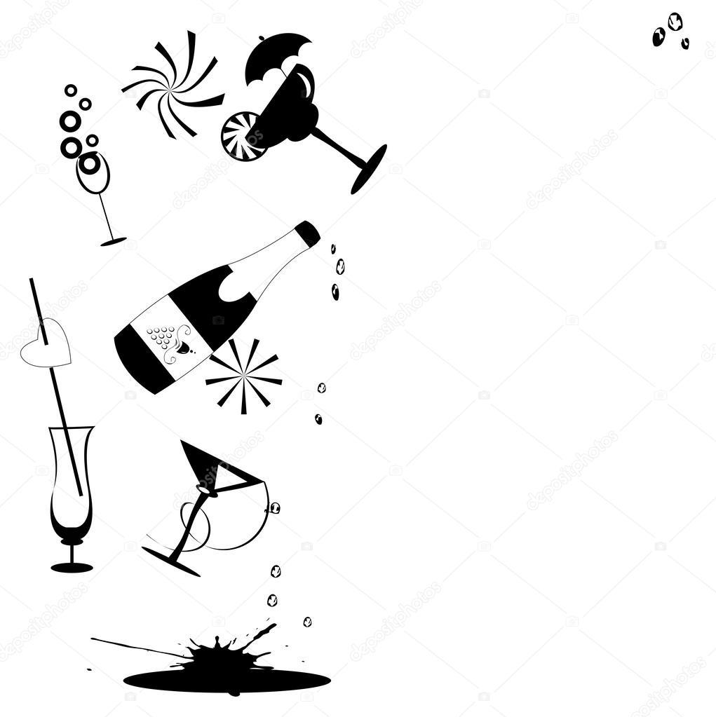 Charmant getranke schwarz galerie die besten wohnideen for Küchenb nke wei