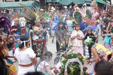 Ancient Indian Aztec empire folklore