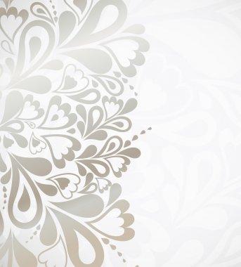 Illustration silver background for design